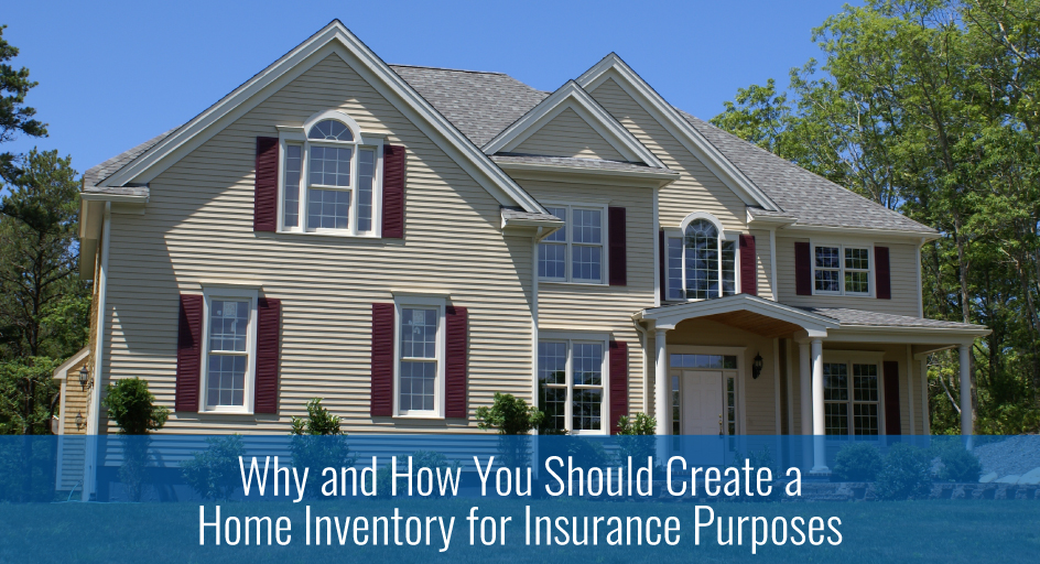 Why and how you should create a home inventory for for How do you start building a house